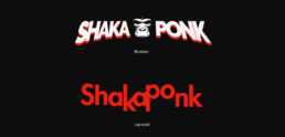 Shaka Ponk logo + cover concept by Jonk