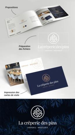 Pack lancement : Logo + 500 cartes de visite