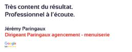 Paringaux - Agencement Menuiserie
