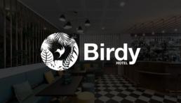 Hôtel Birdy - Honotel - Logo by jonk